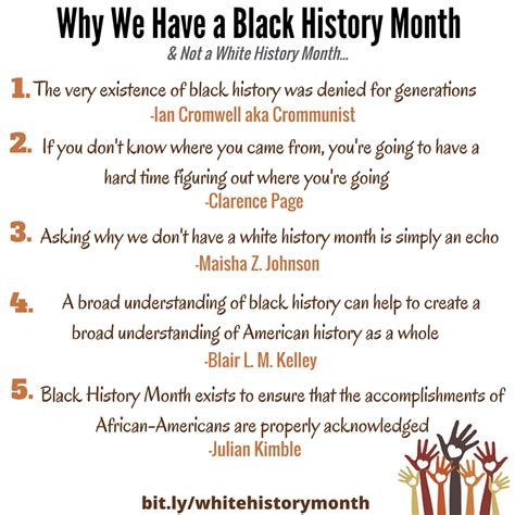 white history why isn t there a white history month mocha pit stop