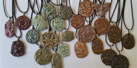 How To Make Molded Ceramic Jewelry Pendants And Charms