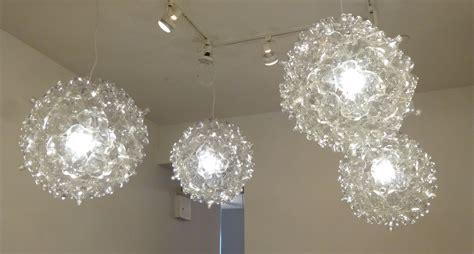 plastic pendant light pendant lighting from upcycled plastic soda bottles the