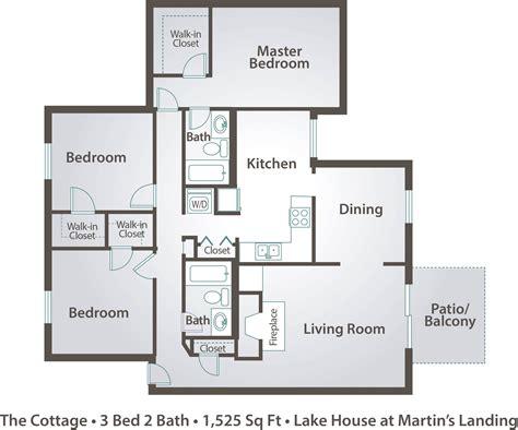 3 bedroom plan three bedroom apartment floor plans