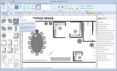 how to make a computer generated floor plan smartdraw vp pcworld