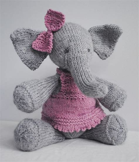 knitted elephant free pattern elijah inspiration ravelry patterns and my cousin