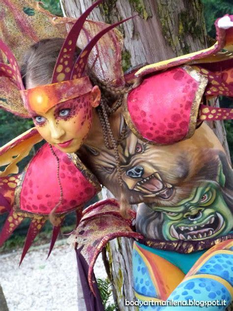 festival bardolino italian bodypainting festival paint tattoos
