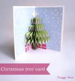 Tree Pop Up Card Twiggynest