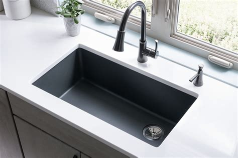 quartz kitchen sink spotlight on quartz kitchen sink collections by elkay abode