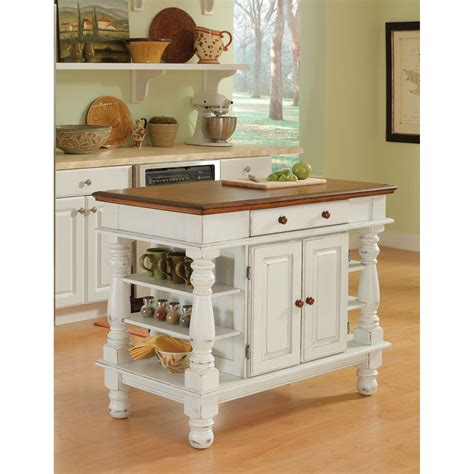 kitchen island antique americana antique white sanded distressed kitchen island home styles furniture