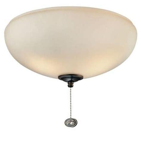 ceiling fan light kit home depot hton bay altura ceiling fan light kit 68069 the home