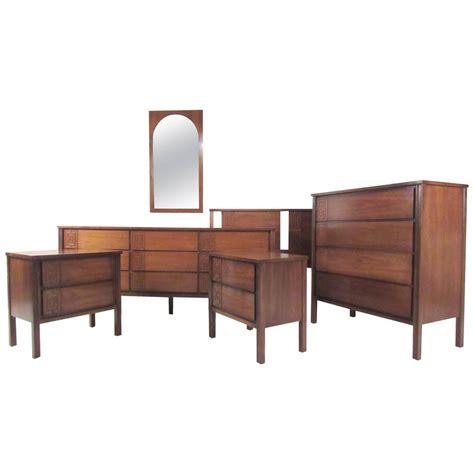 mid century modern furniture bedroom sets stylish mid century modern seven bedroom set for