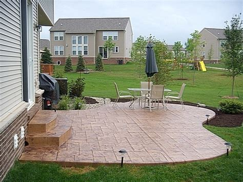 backyard concrete patio designs sted concrete patio designs concrete patio ideas