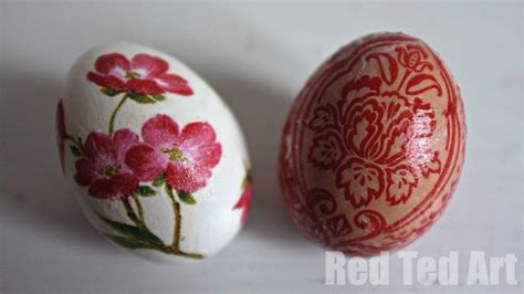 decoupage decorating ideas egg decorating ideas decoupage