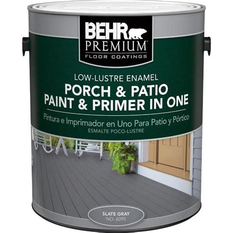 behr paint colors paint and primer behr premium 1 gal 6095 slate gray low lustre interior
