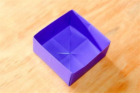 origami box wikihow how to fold a paper box