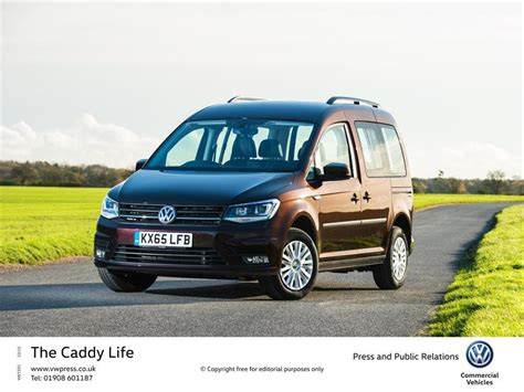 vw announces new petrol range for caddy and caravelle models
