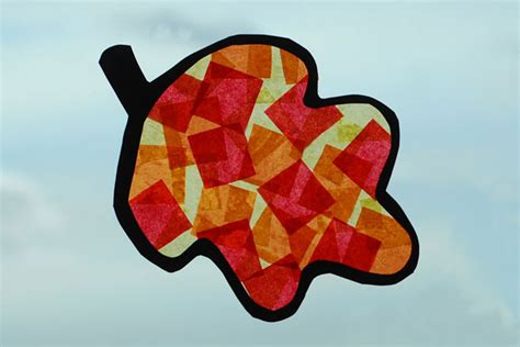 tissue paper leaf craft 3 fall crafts for page 2