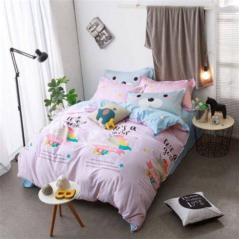 unicorn bedding get cheap unicorn bedding aliexpress