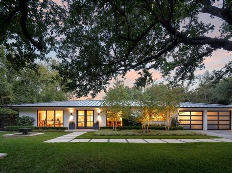 modern ranch style contemporary home 6722 road dallas