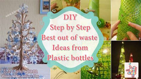 best out of waste craft ideas for step by step tutorial best out of waste ideas from