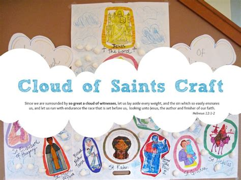 catholic craft projects 17 best images about all saints day a catholic