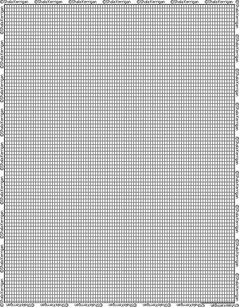beading graph paper shala s graph paper