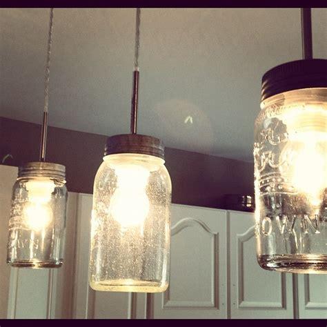 diy kitchen light fixtures diy jar light fixture diy