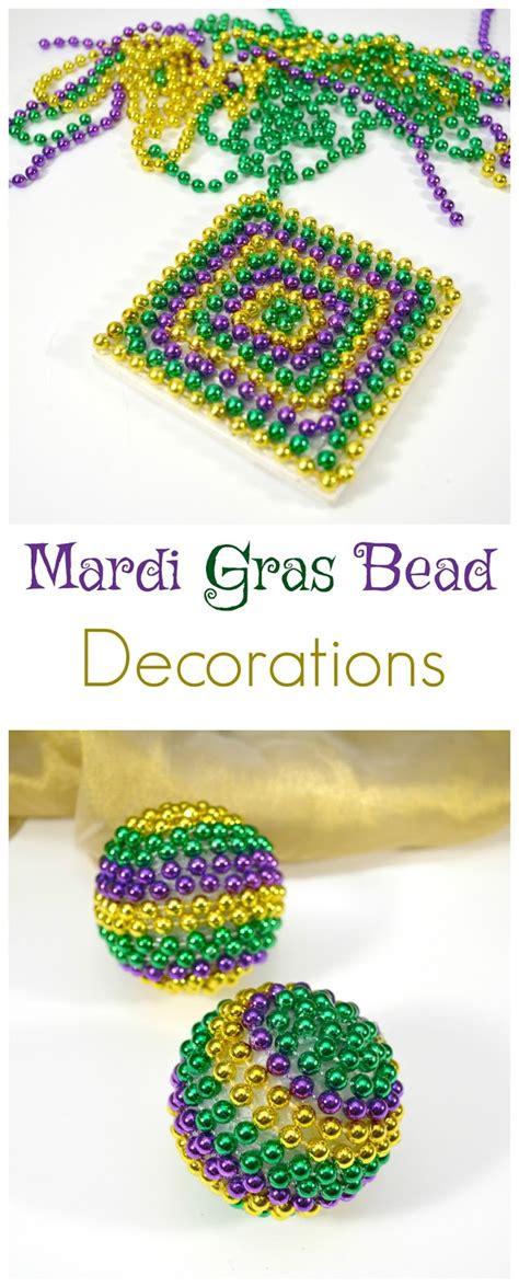 how do you earn mardi gras with 4 boys diy mardi gras bead decorations