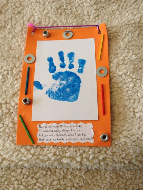 fathers day arts and crafts for s day toddler craft made with a foam frame painted