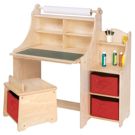 kid craft table with storage toddler desk with storage webnuggetz