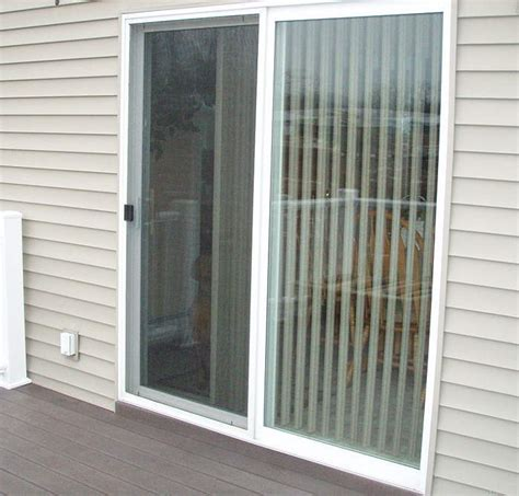 patio security doors using door security devices to secure swinging or sliding