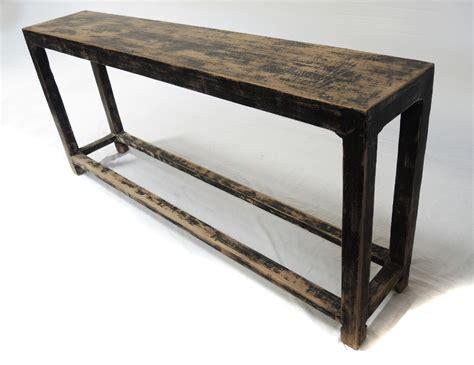 slim sofa back console table with shelf custom furniture