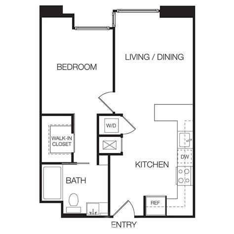floor plans for one bedroom apartments apartments for rent in 1 bedroom apartments