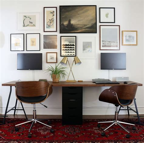 two person desk home office 17 best ideas about two person desk on 2
