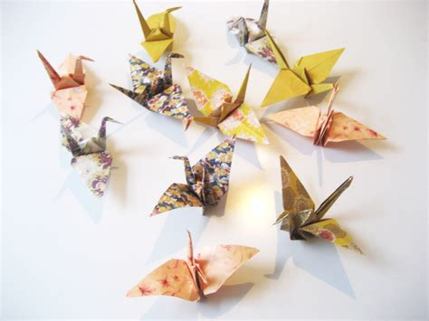 origami crane paper origami paper cranes and jewellery box from nomess kawaiicph