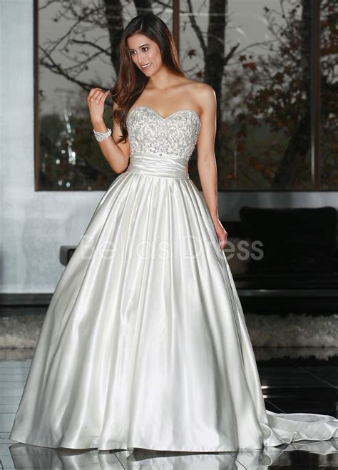 beaded wedding gown beaded gown wedding dress with court traincherry