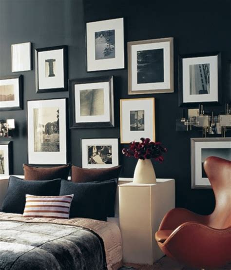 mens home decor of hanging pictures on the wall wall photo display