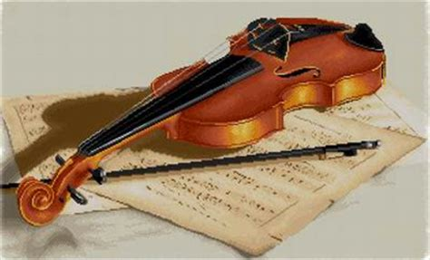 knitting violin violin pattern counted cross stitch patterns and charts