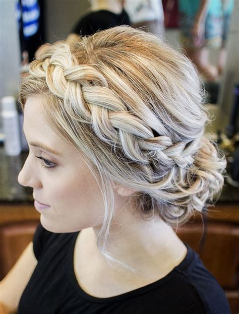 braided hair with 25 best ideas about braided updo on simple