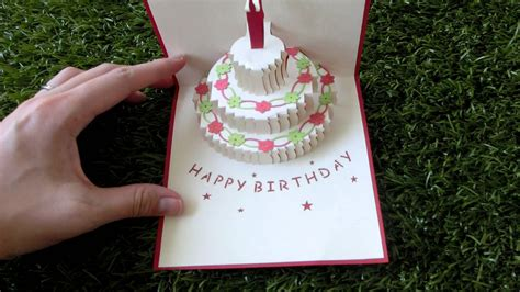 how to make birthday cake pop up card best photos of pop up birthday cake template cake pop up