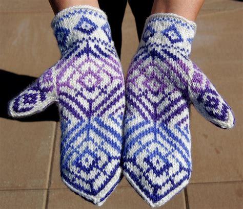 mitten pattern knit knitting in the patterns a knitting