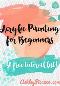 acrylic painting tutorial an acrylic painting for beginners tutorial up