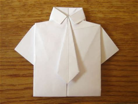 tie origami money origami shirt and tie folding