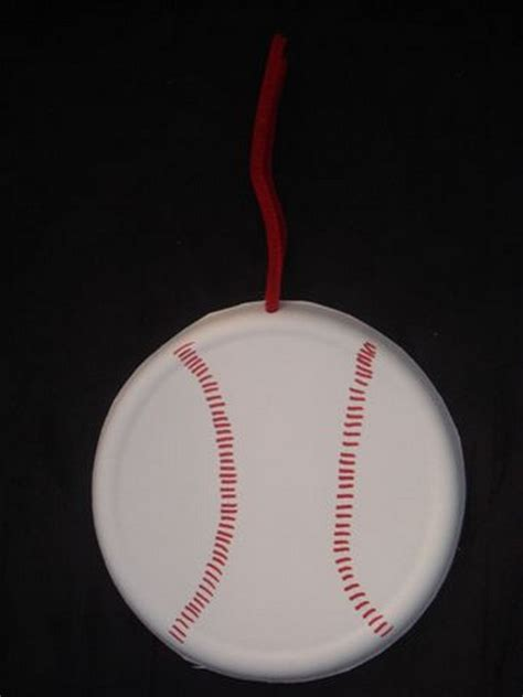 baseball crafts for preschool crafts for easy baseball paper plate