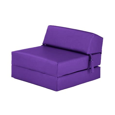 folding chair bed faux leather fold out z bed single futon chair bed