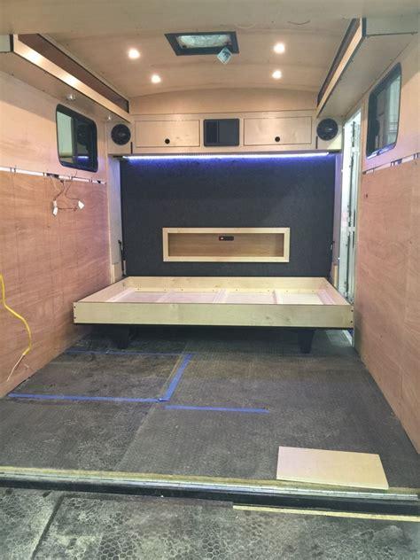 Shabby Chic Kitchen Cabinets hometalk cargo trailer camper conversion
