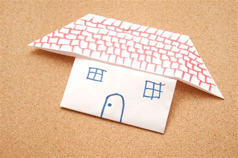 origami house how to make an origami house 7 steps with pictures