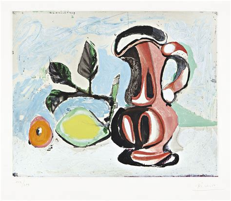 picasso painting yard sale pablo picasso still with lemon and pitcher