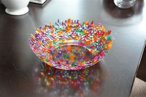 melted bead bowl melted pony bead bowl ideas