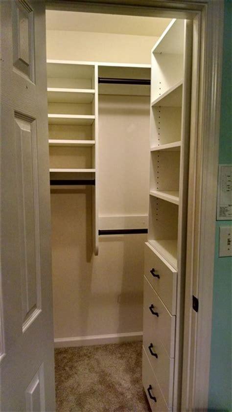 narrow walk in closet narrow walk in closet ideas narrow walk in closet