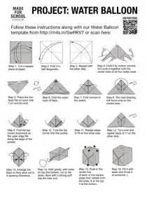 Origami Water Bomb Origami