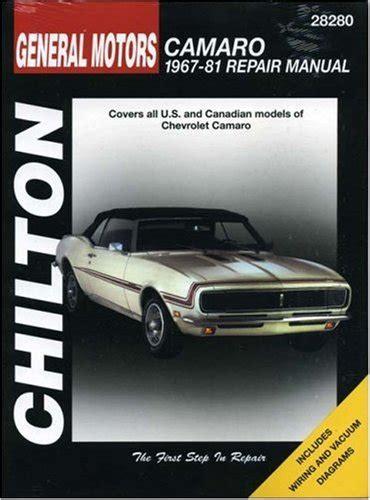 chilton car manuals free download 2001 chevrolet camaro user handbook read online chevrolet camaro 1967 81 chilton total car care series manuals by chilton