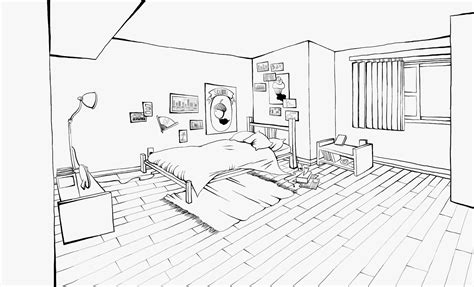 how to draw a bedroom kujubu research drawing bedroom